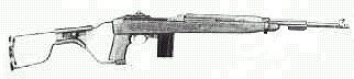 M-2A1 Carbine with folding stock